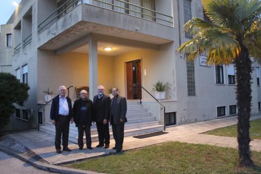 Padres Scalabrinianos no Seminário Scalabrini