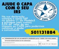 Ajude o CAPA com o seu IRS